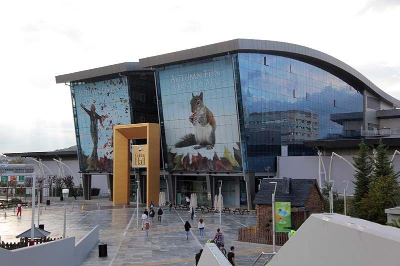 821f68fb33 International Broadcasting Centre Athens 2004 - Golden Hall